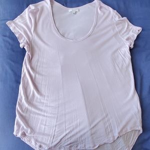 Aritzia Talula Valmere T-shirt Light Purple Small